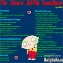 Stewie Griffin Soundboard